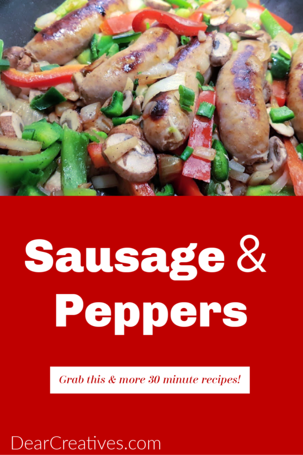 Quick and Easy Sausage And Peppers