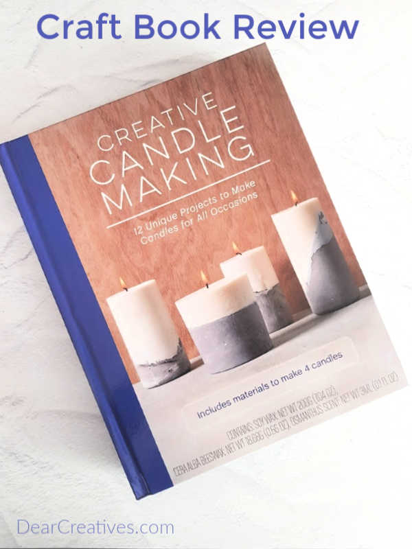 "Candle Making Craft Book + Kit ""Creative Candle Making"""