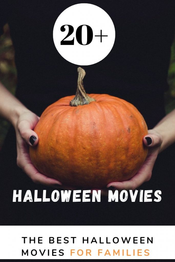 Halloween Movies For Families - Halloween Movies list - 20 + Halloween Movies to watch- classic Halloween movies, fun, scary, the best, family friendly Halloween movies. DearCreatives.com