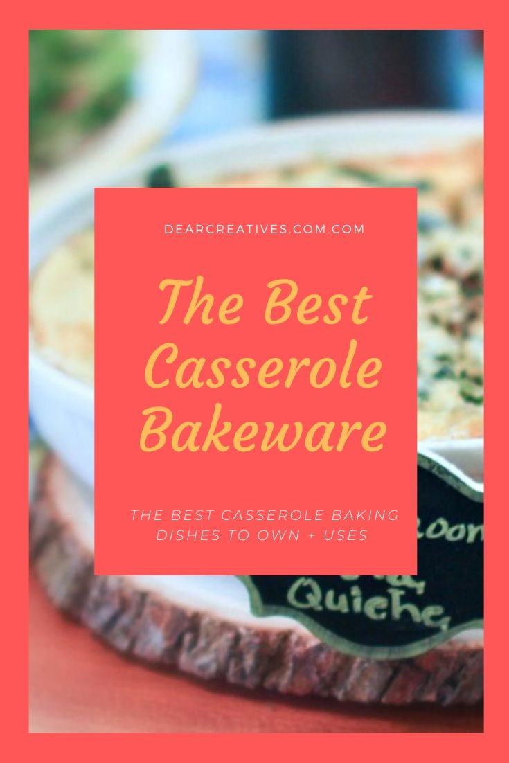 Dish It Up! The Best Casserole Baking Dishes To Bake In!