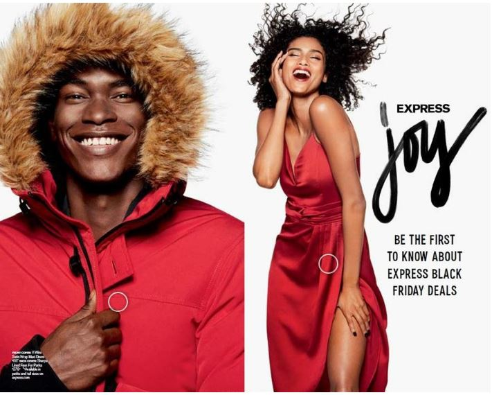 Express Black Friday Circular + Holiday Fashion Ideas