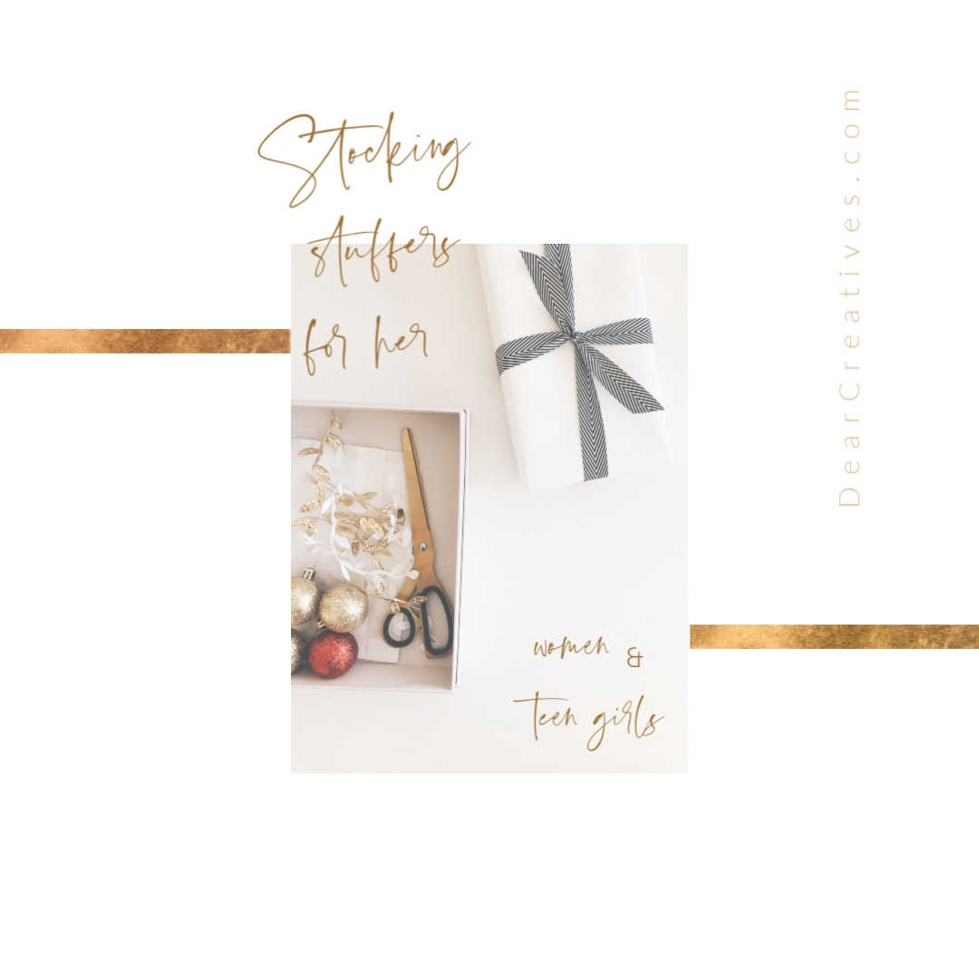 Stocking Stuffers For Her + Teen Girl Stocking Stuffers