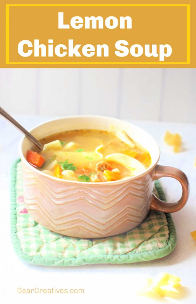 Lemon-Chicken-Soup-Easy-to-make-perfect-for-when-you-are-sick-or-just-want-a-bowl-of-lemony-chicken-soup-©-DearCreatives.com-