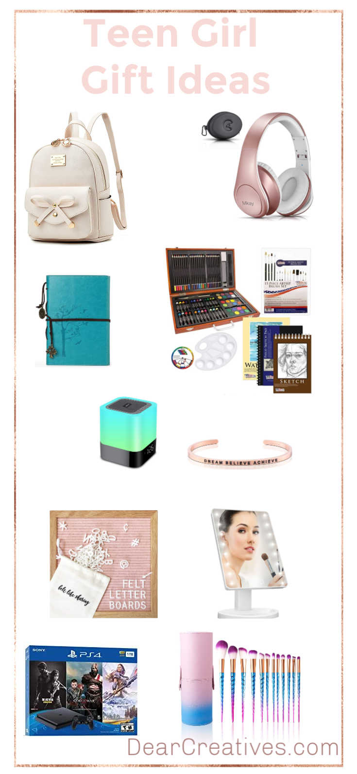 Gifts For Teen Girls Perfect Gifts For Her Dear Creatives