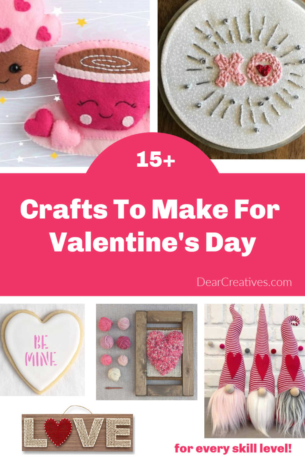 15 Crafts For Valentine's Day To Make!