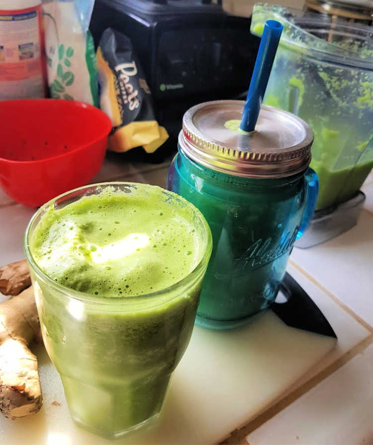 Smoothies that were just made. Ready for sipping! DearCreatives.com
