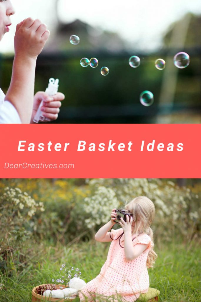 Easter Basket Ideas - These are Easter basket stuffers for kids Easter baskets. Be ready for spring and Easter with these deals, gift card offers, and bogo offers...Fun, cute and useful ideas. DearCreatives.com