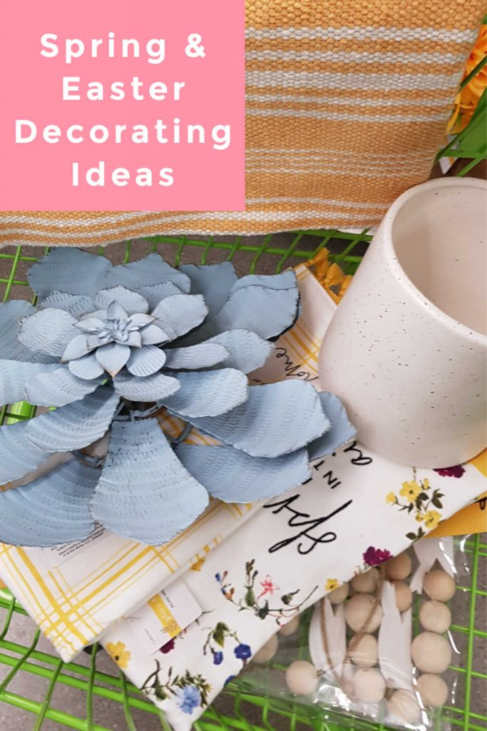 Spring Decorating and Easter Decorating Ideas. Are you ready to decorate for spring and Easter_ See how to decorate for spring and add in Easter to your home decor. DearCreatives.com