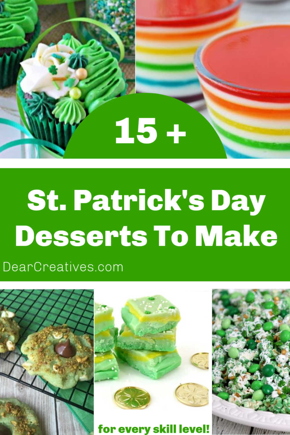 St. Patrick's Day Desserts To Make!