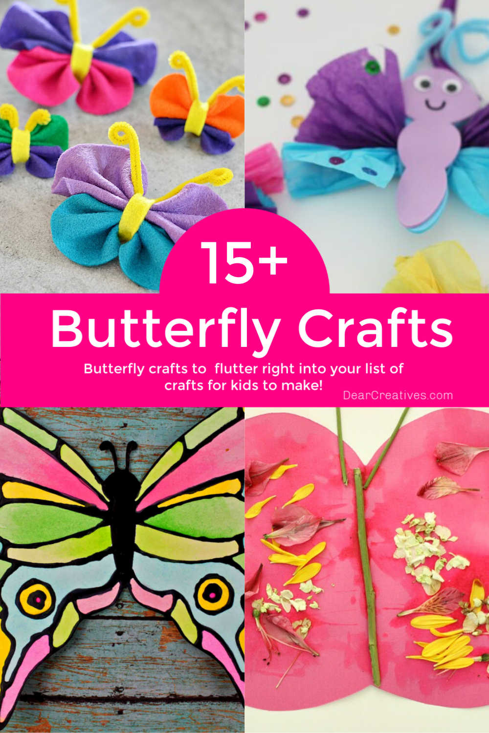 15+ Butterfly Crafts For Kids To Brighten Your Day!