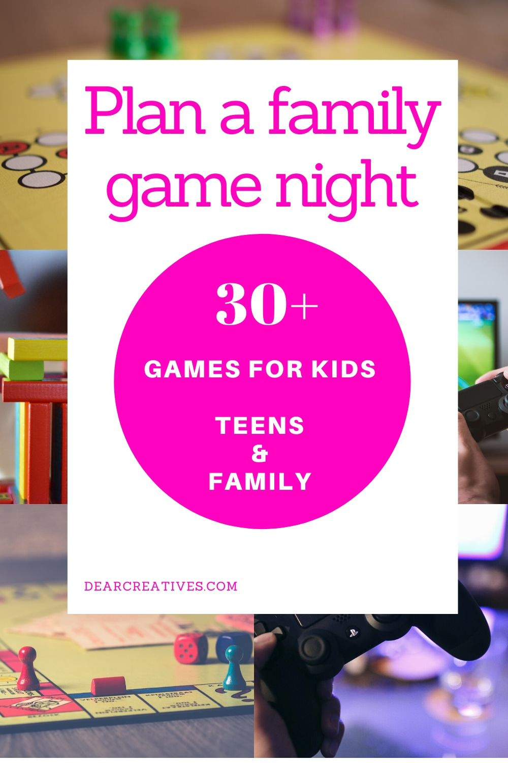 Stuck Indoors? Have A Family Game Night!
