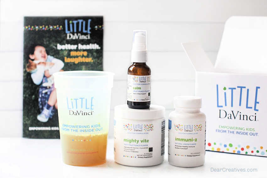 Health Tips For Kids - Little Davinci® vitamins and supplements review. Tips for keeping kids healthy and happy. © DearCreatives.com