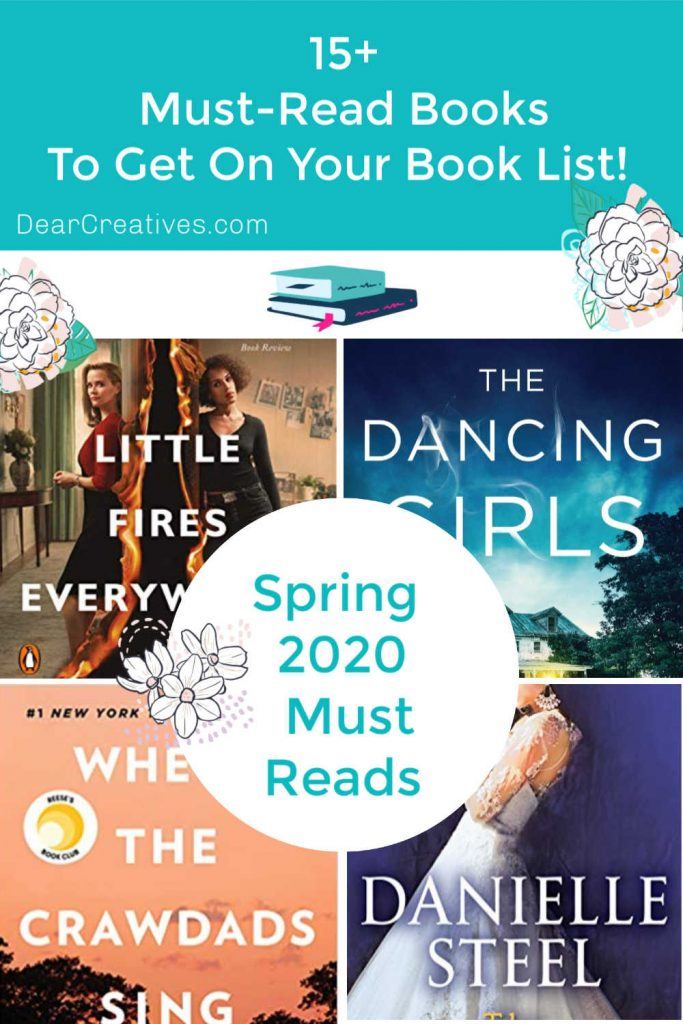 Must-Read Book List - 15+ Must-Read Books To Get On Your Book List This Spring! DearCreatives.com