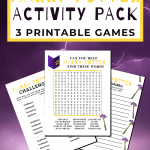 Harry Potter Printables - Word Scramble - Character Scramble these fun Harry Potter activities come with the answer key and are in a free printable Activity Pack -Grab them, print and have fun! DearCreatives.com