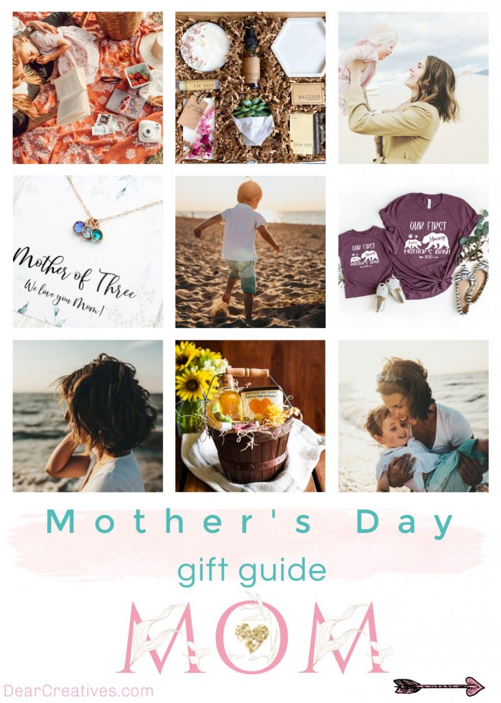 Mother's Day Gift Guide - Gifts for mom, gifts for grandma, grab these and more Mother's Day gift ideas at DearCreatives.com