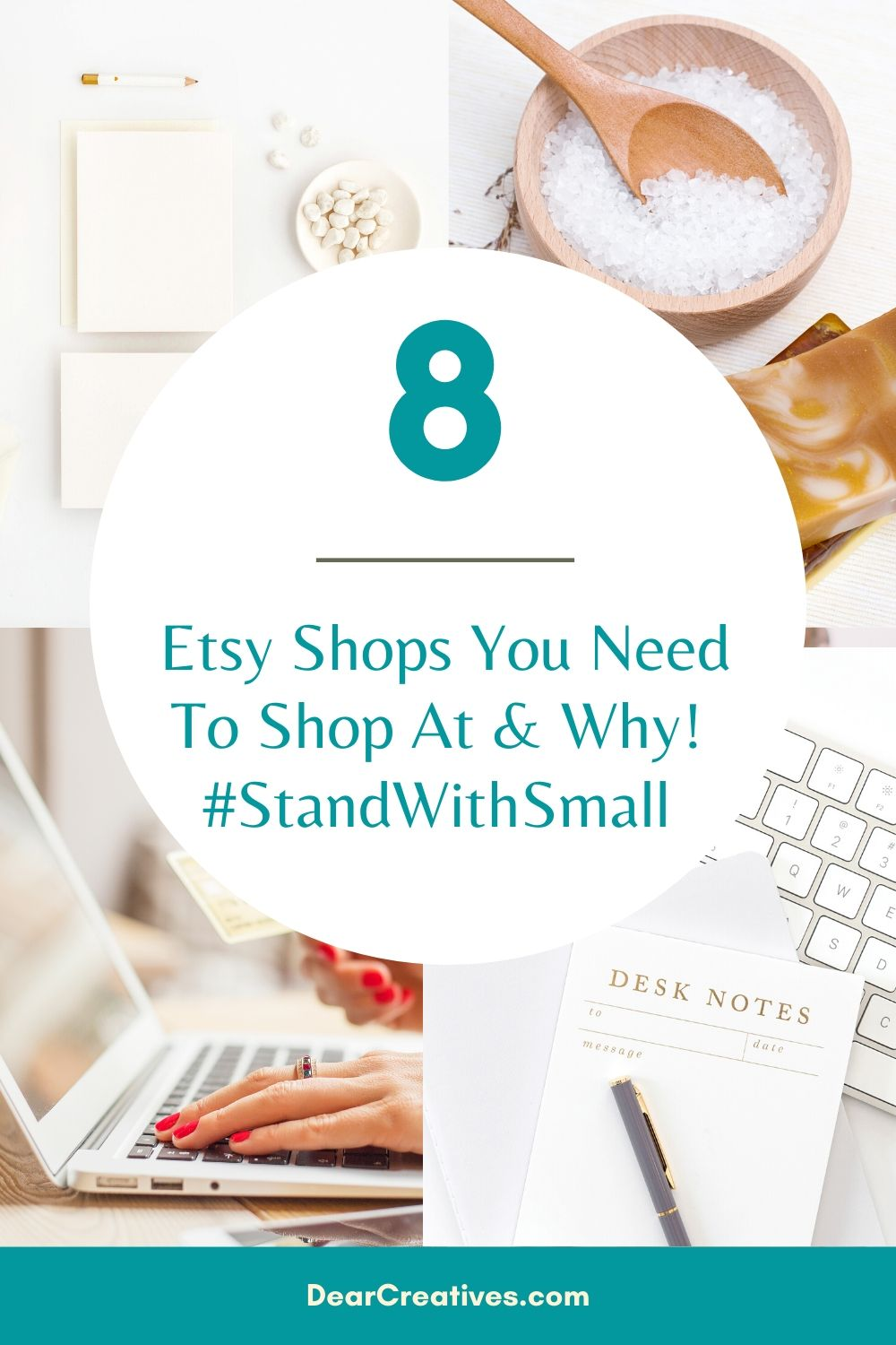 8 Etsy Shops We Love #StandWithSmall