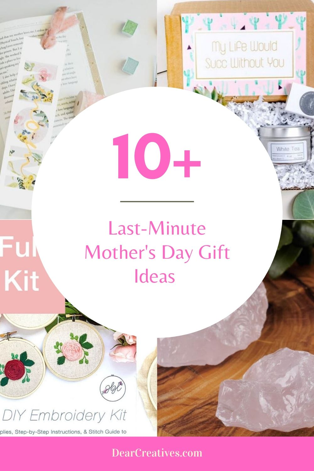 Last-Minute Mother's Day Gifts To Get To Mom Fast!