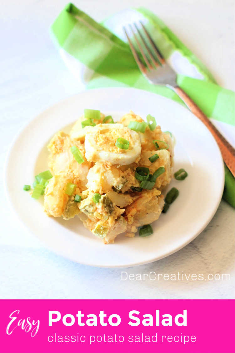 Potato Salad – Go To Side Dish For So Many Occasions!