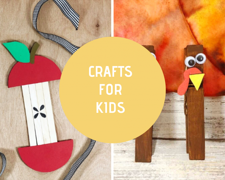Crafts For Kids - crafts for every season! So many kids crafts to pick from. DearCreatives.com