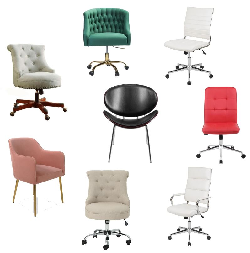Desk Chairs - Cozy, affordable office chairs - DearCreatives.com