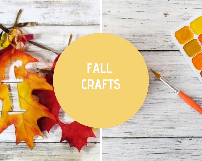 Fall Craft Ideas - Fall Crafts - Crafts to make for the fall and autumn season. Projects for every skill level. DearCreatives.com