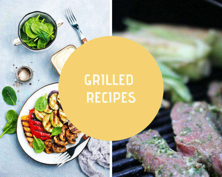 Grilled Recipes - grilling recipes and marinades for grilling -Recipes for cooking on the grill.  DearCreatives.com