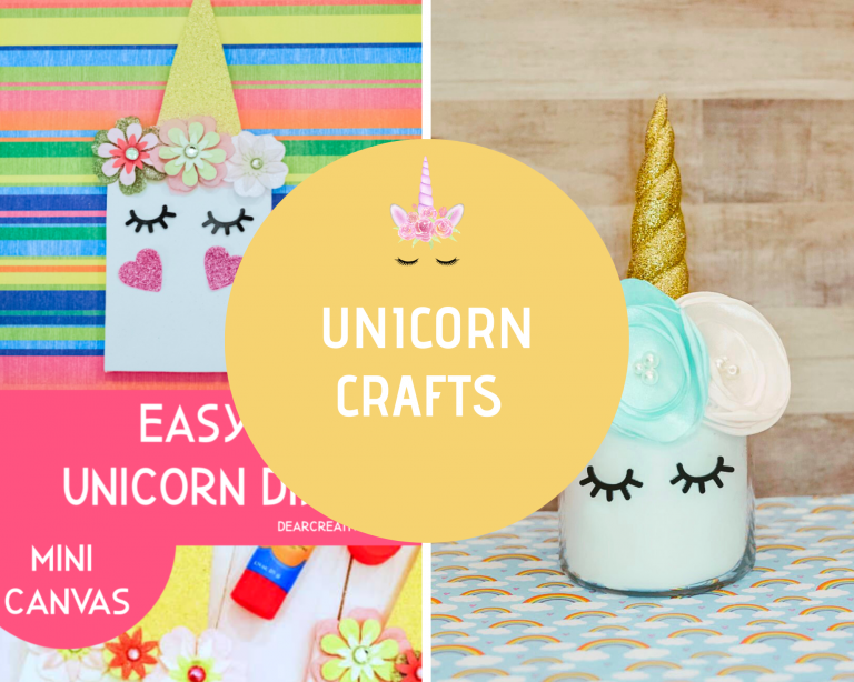Unicorn DIYs and Unicorn Crafts