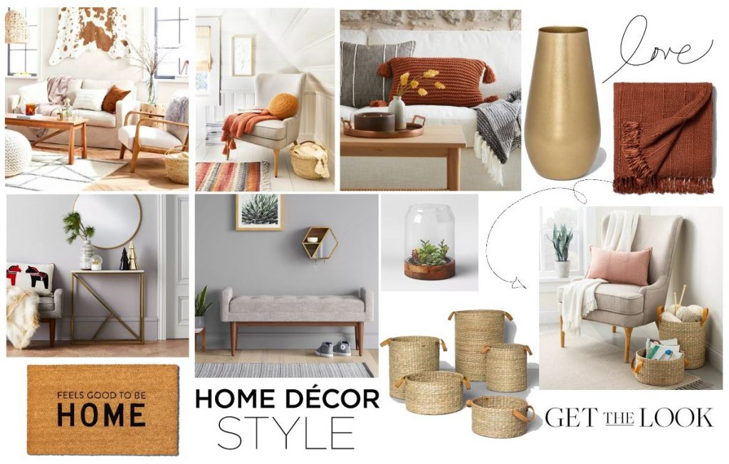fall decorating ideas - home decor ideas for fall from Hearth and Hand with Magnolia- fall_autumn style - See how to style your home with easy ideas-DearCreatives.com