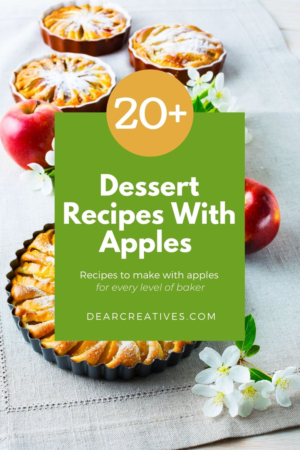 20+ Dessert Recipes With Apples You Gotta Make!