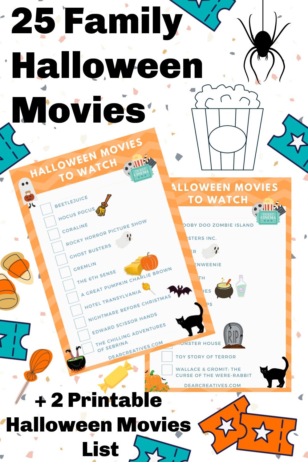 25 Family Halloween Movies To Watch!