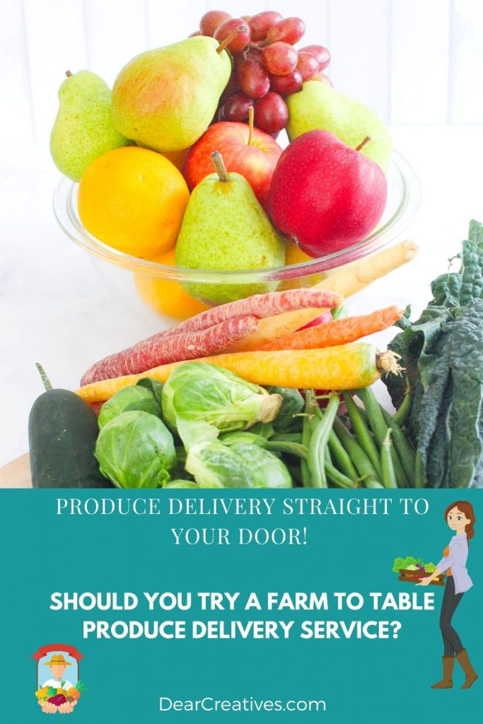 Farmbox Direct - Produce Delivery Service - Farm To Table fruits and vegetables delivered straight to your home. - Farmbox Direct Review DearCreatives.com