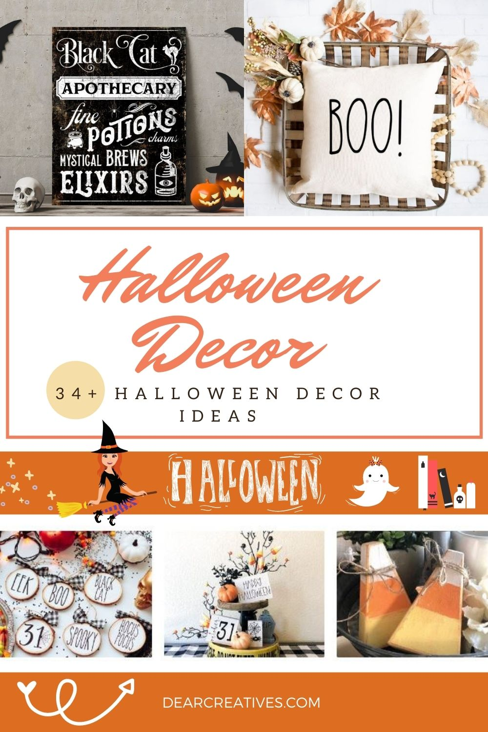 34+ Halloween Decor Ideas To Get You In The Spirit!
