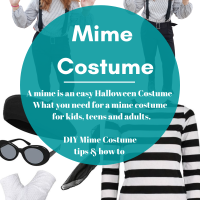 Are you looking for a Halloween costume? A mime costume is an easy Halloween costume. It can even be a last-minute Halloween costume. See what you need to be a mime and make a mime costume. DearCreatives.com