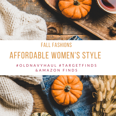 In Style Women's Clothing -Fall fashions - what to wear this fall - breaking down the best affordable styles from old navy, #targetfinds and amazon finds to wear this fall. DearCreatives.com