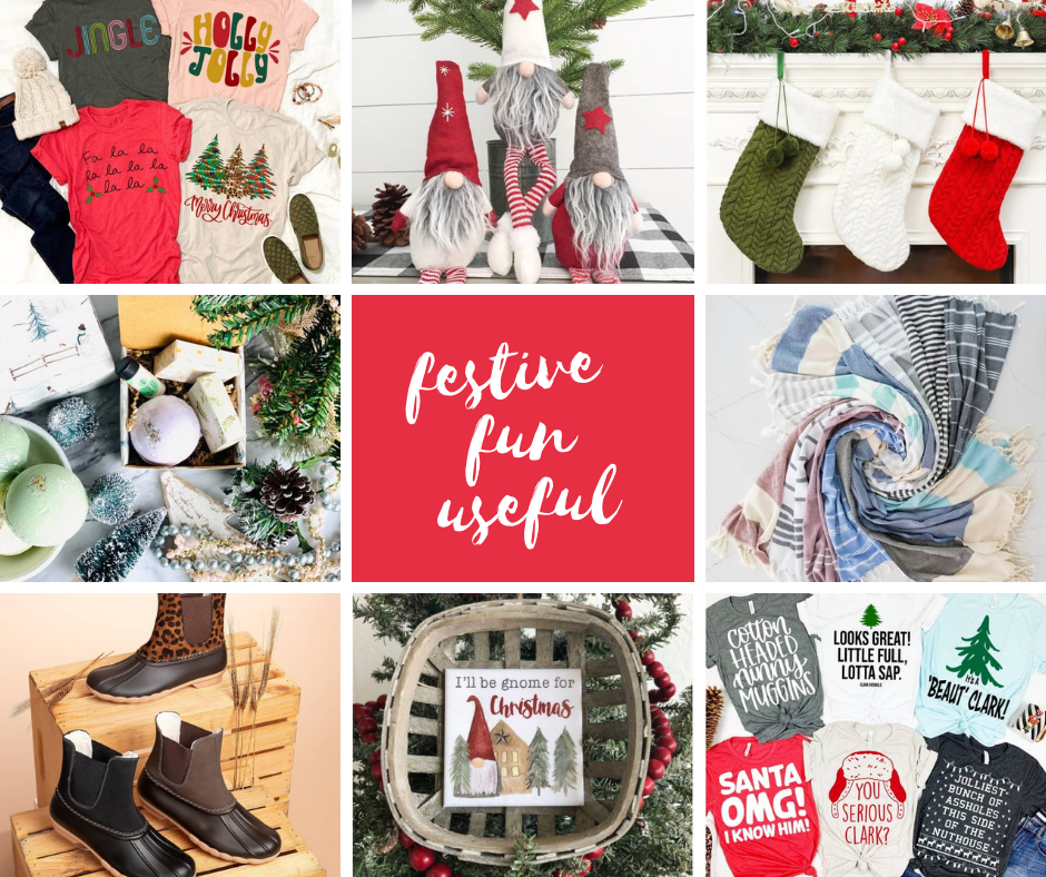 Ideas for the holidays - Festive, fun and useful Christmas gift ideas. Easy decorate with, to send or get for Christmas. DearCreatives.com