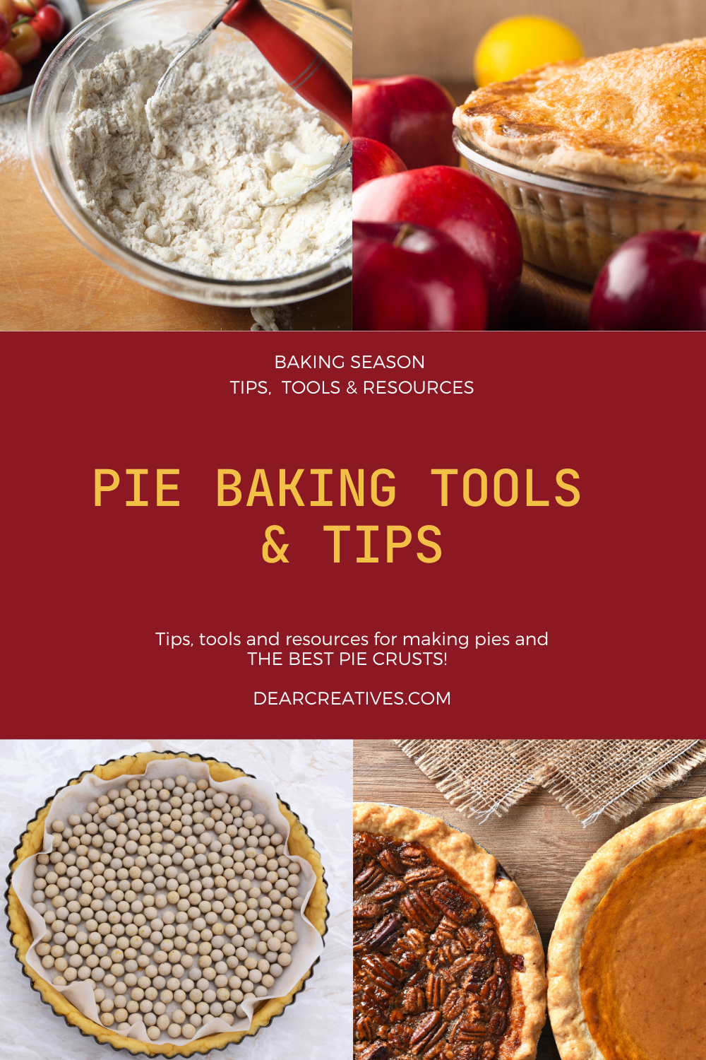 Pie Baking Tools, Tips, And Resources