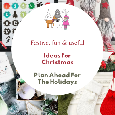 Planning Ahead For The Holidays - Make a wish list, shop for ideas, know sizes you need, shop for something festive, fun and useful. See what's already trending for the holidays! DearCreatives.com
