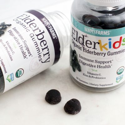 Norm's Farms Elderberry Organic Gummies for adults and kids - are a way to boost your immune system... © DearCreatives.com