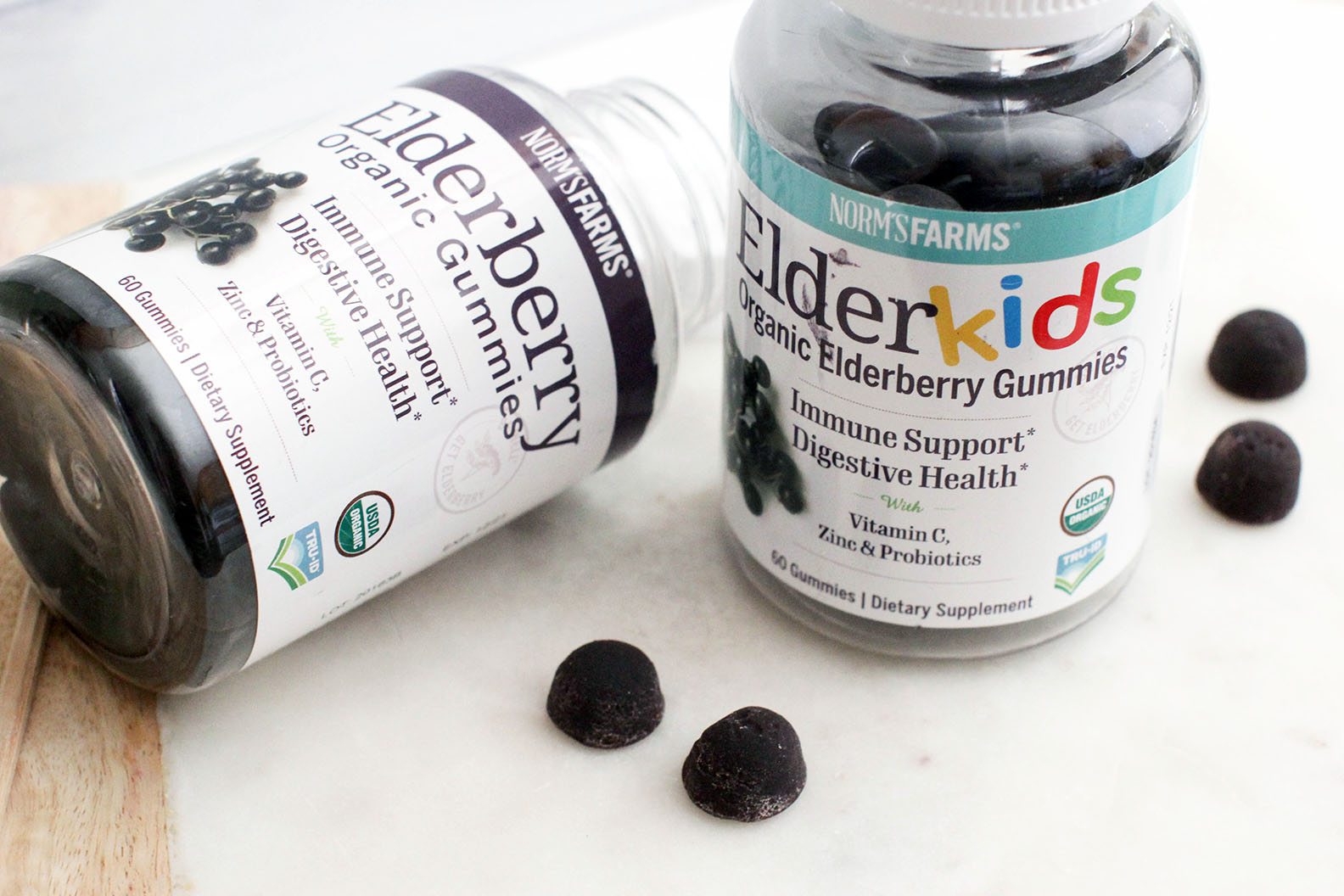 Amp Up Your Health With Elderberry Gummies For Kids & Adults!