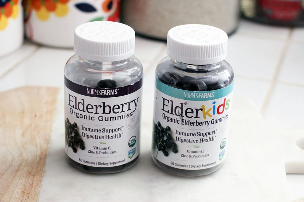 Try Norm's Farms Elderberry Organic Gummies and boost your immune system. Find out the benefits of elderberry and these products are in this review...© DearCreatives.com