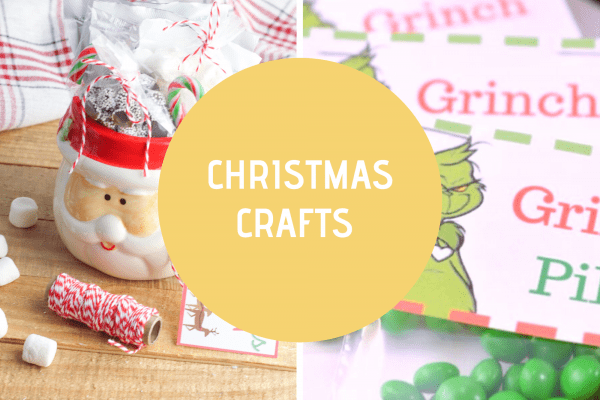 Christmas Crafts - find Christmas craft ideas to make. Free printable templates, instructions, Christmas crafts for adults, teens, and kids! DearCreatives.com.