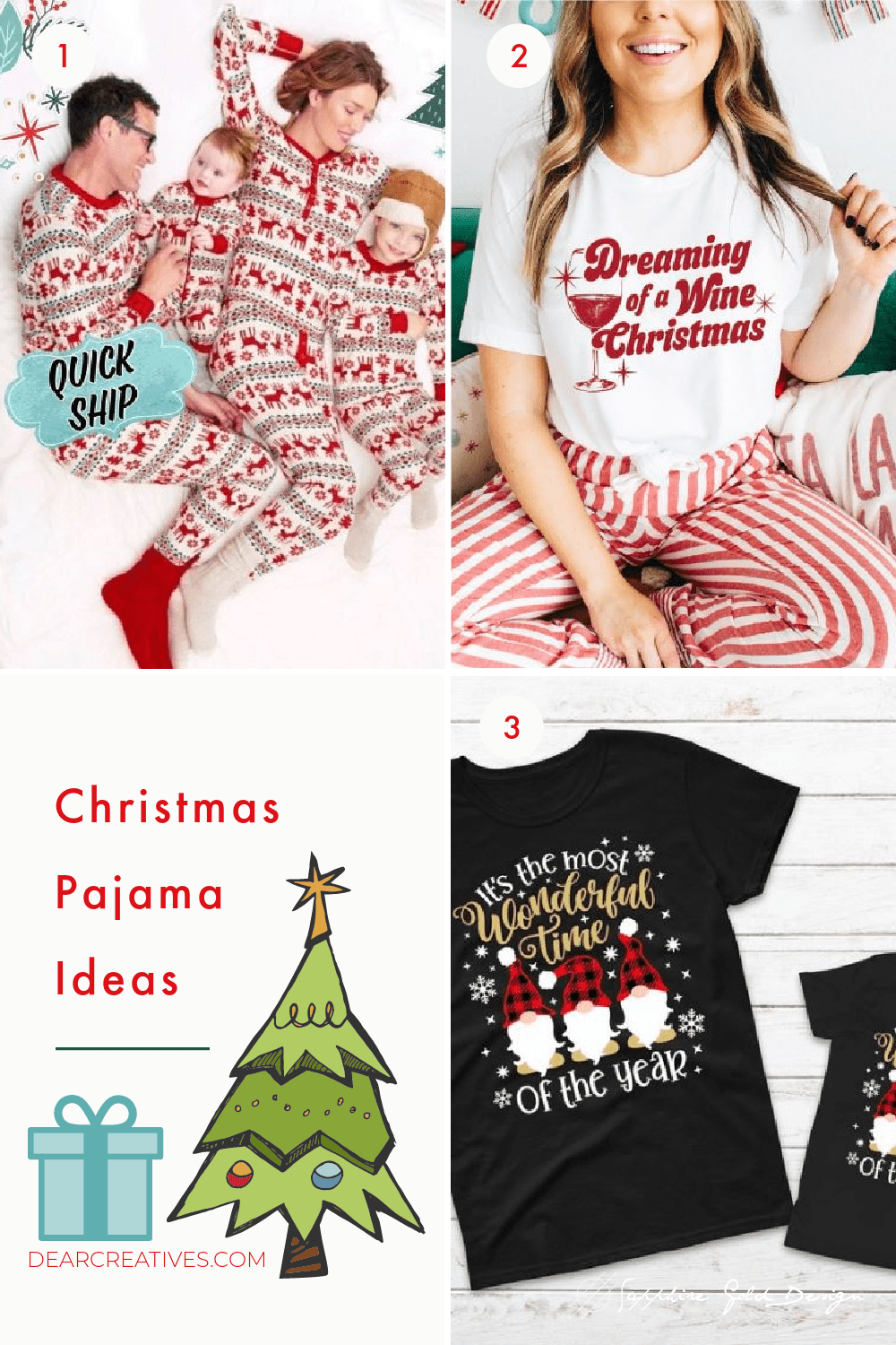 10+ Christmas Pajama Ideas To Make Staying In Fun!