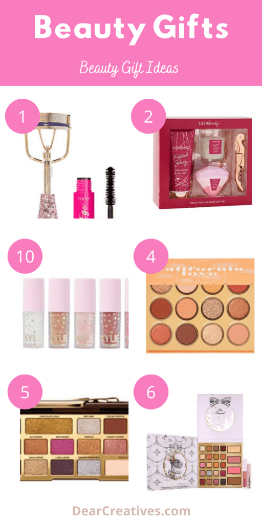 ift Guide - Beauty gift ideas - See the entire list of beauty gifts at DearCreatives.com