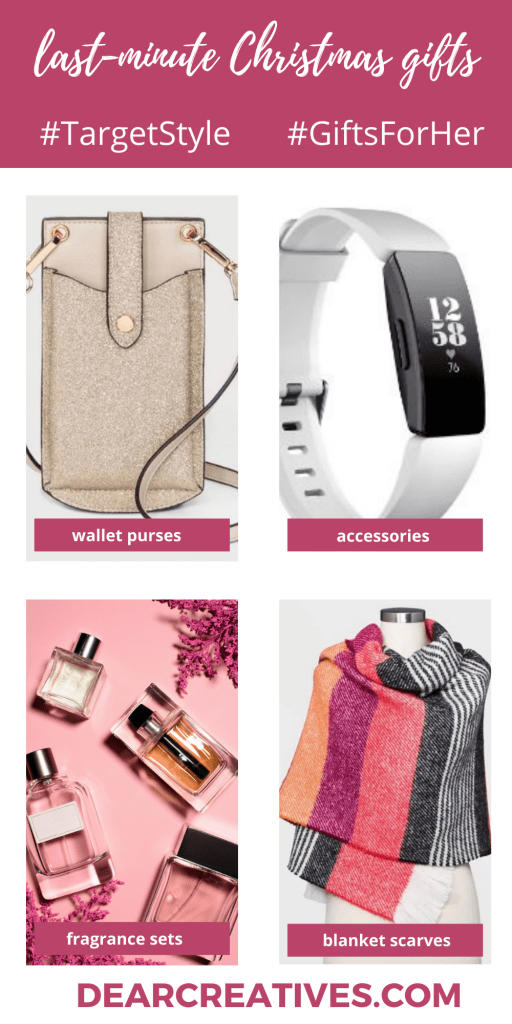Last-Minute Gifts for Her - See full gift guide at DearCreatives.com