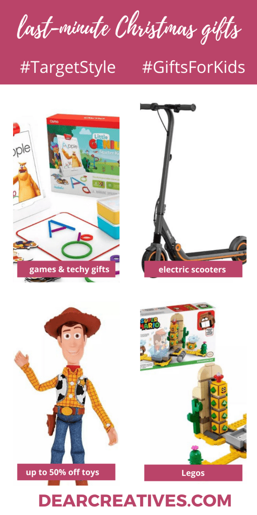 Christmas Gifts for Kids - See full gift guide at DearCreatives.com