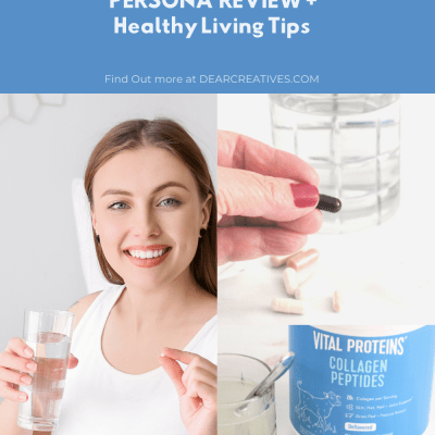 Personalized Vitamins and Supplements - Healthy Living Tips - Persona delivers your supplements and vitamins packaged right to your doorstep every 28 days. Find out more - DearCreatives.com