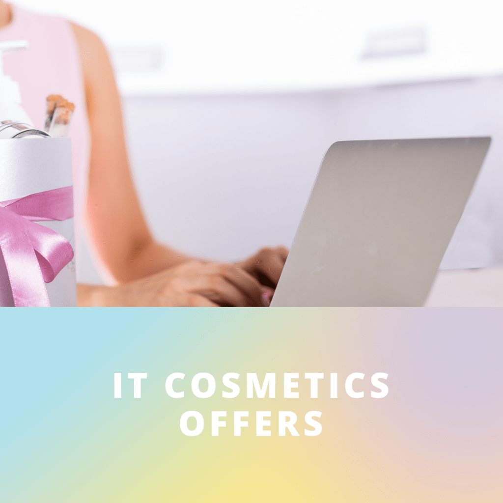 Shop IT Cosmetics for special offers and discount savings - DearCreatives.com