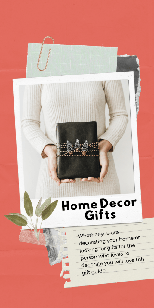 Who loves to decorate? Home Decor Gifts - See all these gift guides for Christmas Gift ideas for her. - DearCreatives.com