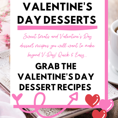 15+ Valentine's Day Desserts - Sweet treats and Valentine's Day Dessert Recipes you will want to make! These sweet treats and dessert recipes are quick and easy to make. Enjoy these for Valentine's Day or anytime you are craving sweets...Grab the dessert recipes at DearCreatives.com