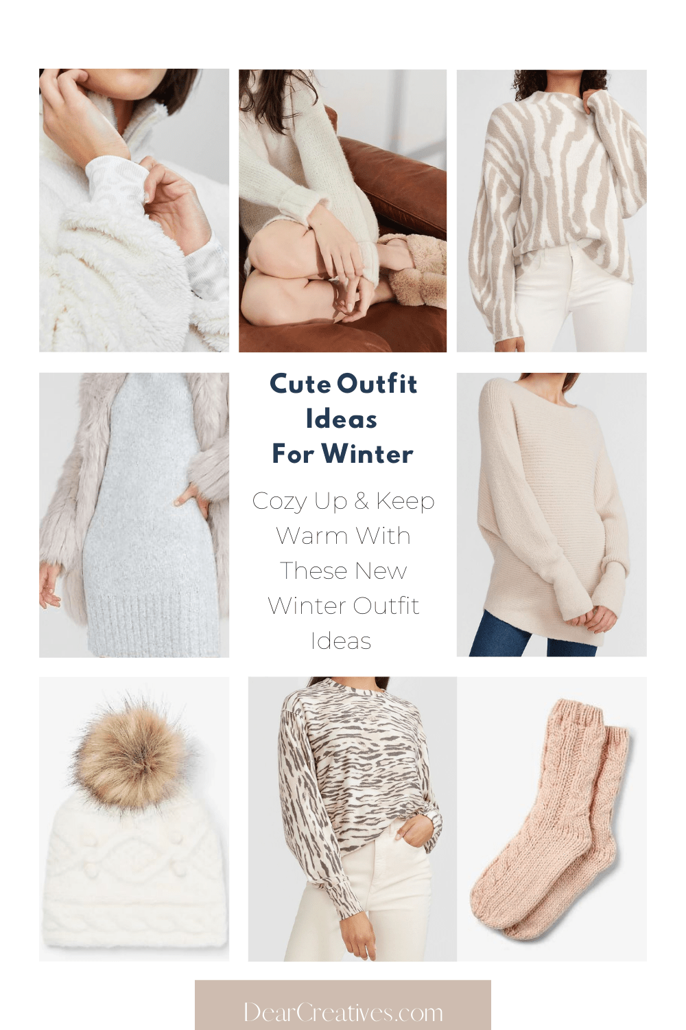 15+ Cute Winter Outfit Ideas To Feel Cozy In!